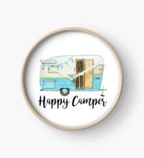 glücklicher Camper Uhr