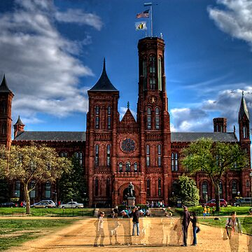 Smithsonian Castle HDR by thirddesign