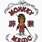 Affe Magie Budda von Candywrap Design