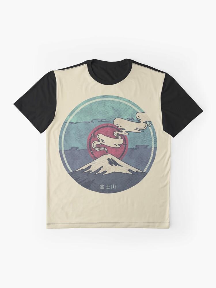 Alternate view of Fuji Graphic T-Shirt
