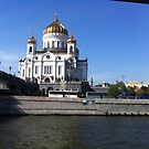 Moscow river view-Photography+Products Design by haya1812