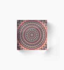 Mandala 126 Acrylic Block
