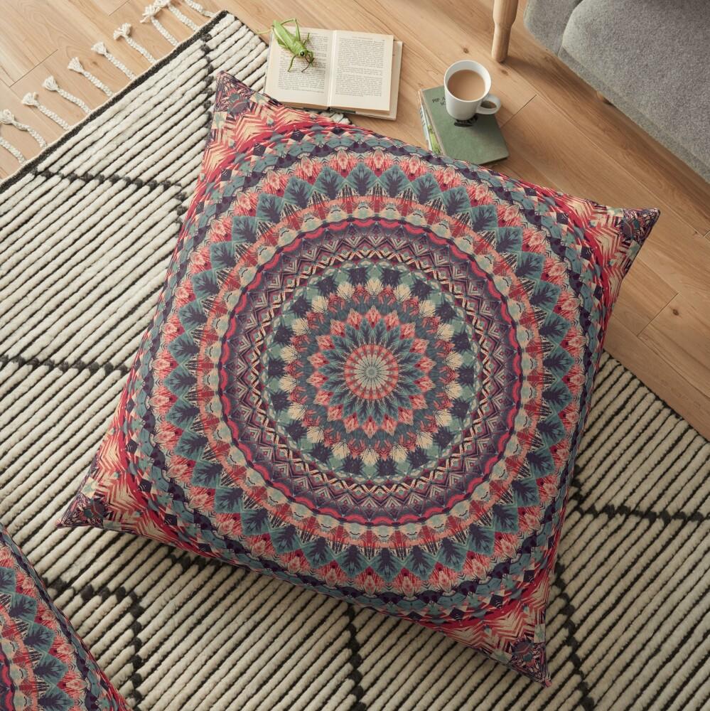 Mandala 126 Floor Pillow