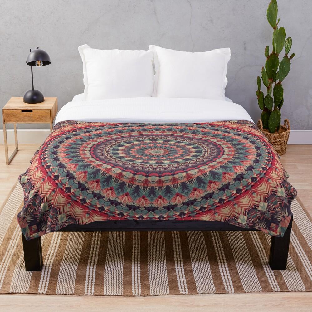 Mandala 126 Throw Blanket