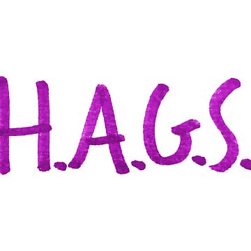 HAGS - Have A Great Summer Yearbook Meme Stickers by itswillharris
