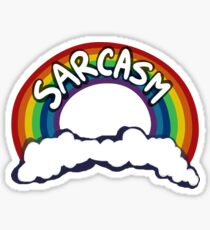 Sarcasm! Sticker