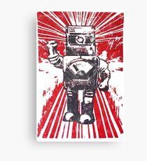 Robot Revolution Canvas Print