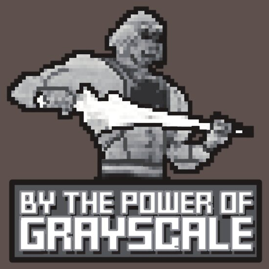 TShirtGifter presents: By the Power of Grayscale