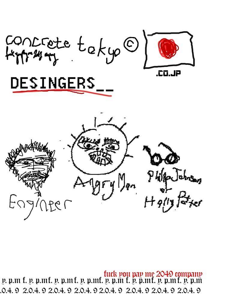 DESIGNERS _ concrete tokyo © by xd3ctrl1zed