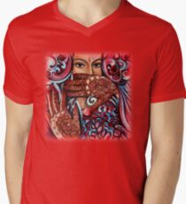 Henna Men's V-Neck T-Shirt