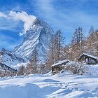 Mt. Matterhorn At Zermatt, Switzerland by Susan Dost