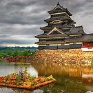 Grey skies over Matsumoto by Yevgen Pogoryelov