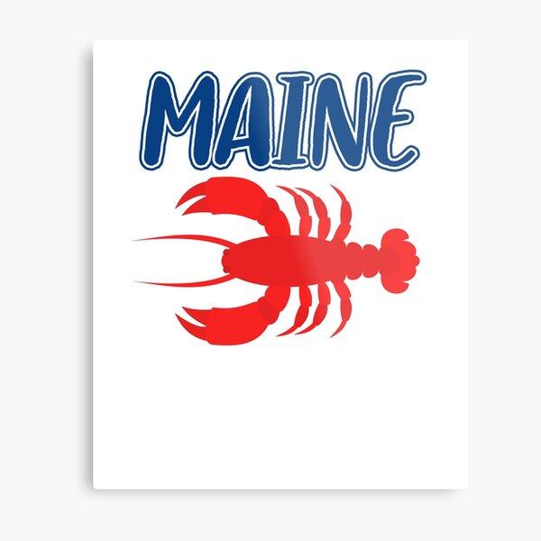 Maine Lobster ~ Foodie Hangry Food Metal Print