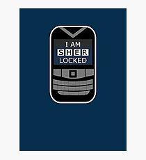 Sherlocked Phone Photographic Print