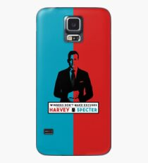 Winners don't make excuses - Harvey Specter Quotes - Suits  Case/Skin for Samsung Galaxy