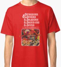 Camiseta clásica Dungeons & Diners & Dragons & Drive-Ins & Dives: Imagen ligeramente más grande