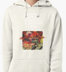 Dungeons & Diners & Dragons & Drive-Ins & Dives: Slightly Larger Image Pullover Hoodie