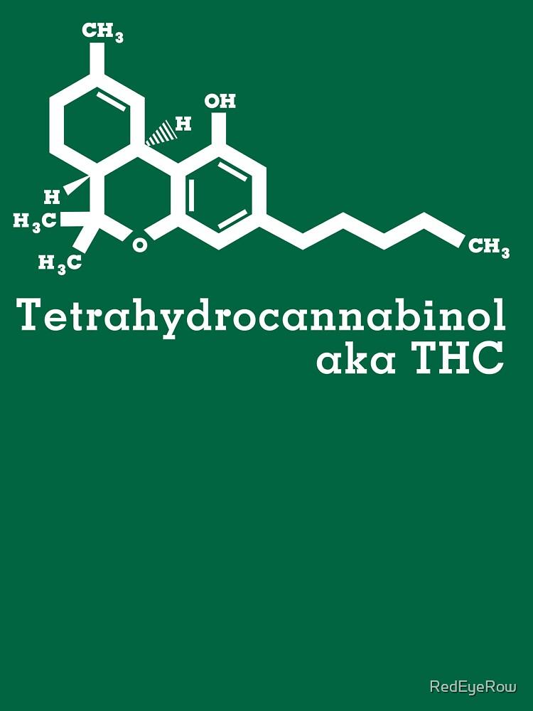 Tetrahydrocannabinol aka THC by RedEyeRow