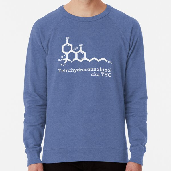 Tetrahydrocannabinol aka THC Lightweight Sweatshirt