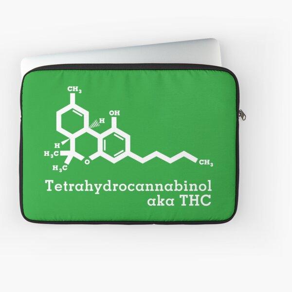 Tetrahydrocannabinol aka THC Laptop Sleeve