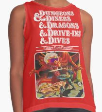 Dungeons & Diners & Dragons & Drive-Ins & Dives: Slightly Larger Image Contrast Tank