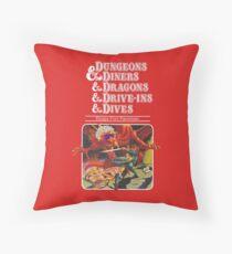 Dungeons & Diners & Dragons & Drive-Ins & Dives: Etwas größeres Bild Bodenkissen
