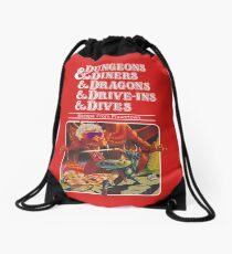 Mochila de cuerdas Dungeons & Diners & Dragons & Drive-Ins & Dives: Imagen ligeramente más grande