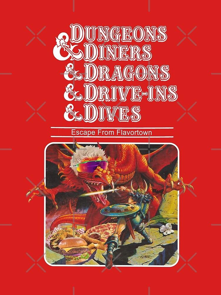Dungeons & Diners & Dragons & Drive-Ins & Dives: Slightly Larger Image by ErikVogt