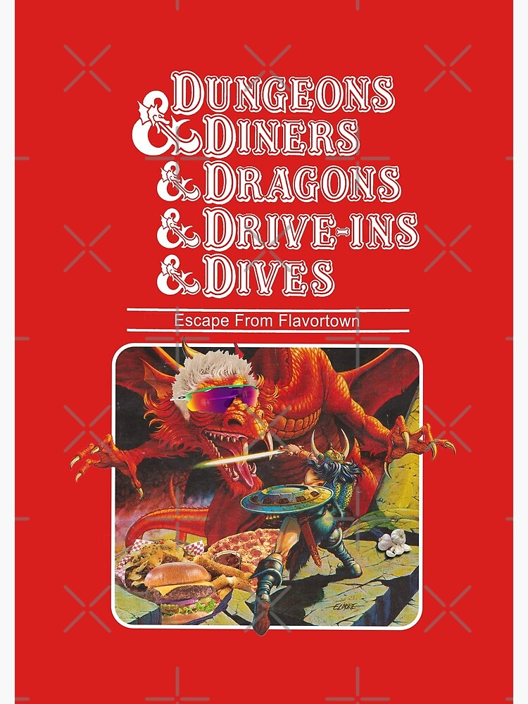 Dungeons & Diners & Dragons & Drive-Ins & Dives: Slightly Larger Image by ErikVogt