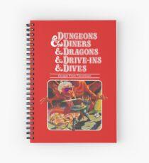 Dungeons & Diners & Dragons & Drive-Ins & Dives: Etwas größeres Bild Spiralblock