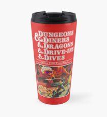 Dungeons & Diners & Dragons & Drive-Ins & Dives: Slightly Larger Image Travel Mug
