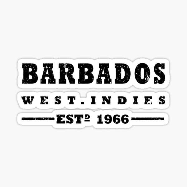 Barbados - West Indies Estd 1966 Sticker
