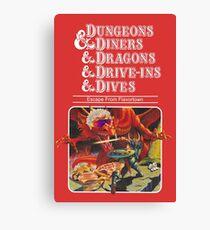Lienzo Dungeons & Diners & Dragons & Drive-Ins & Dives: Imagen ligeramente más grande