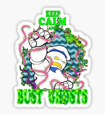 Busting Ghosts Sticker