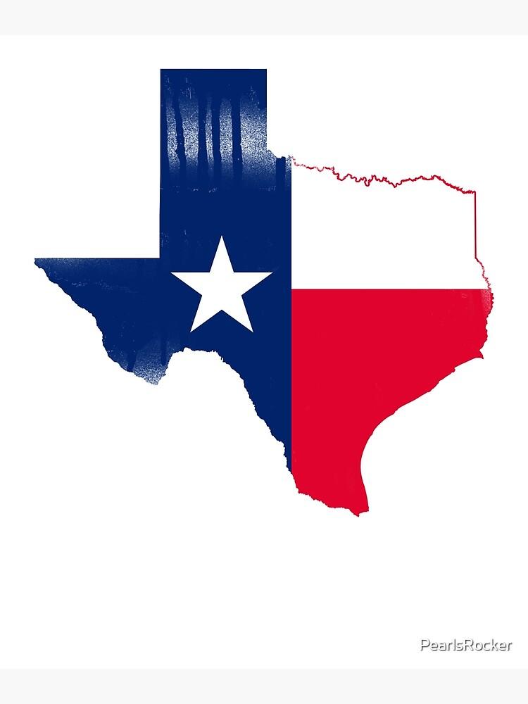 Map Of Texas With Austin.Texas Map Flag Texas Austin Tx Metal Print