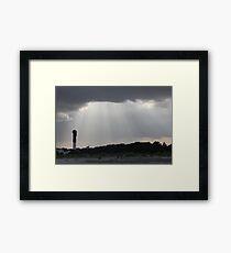 Sullivan's Island Lighthouse Framed Print