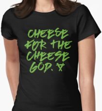 Cheese for the Cheese God Warhammer Age of Sigmar Blood Bowl Skaven Fitted T-Shirt