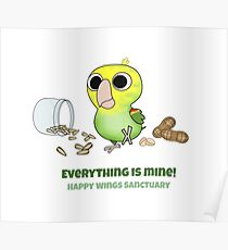 Happy Wings Sanctuary: Ulrich Poster