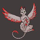 Phoenix Cat - Grey Tabby by RaptagonStudios