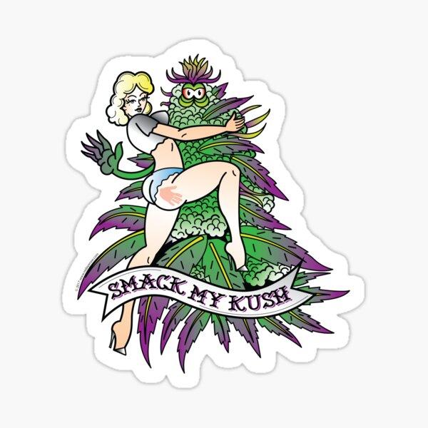 Smack My Kush Sticker