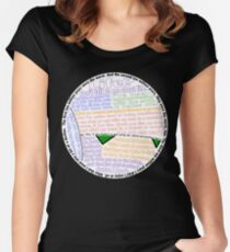 Hitchhiker's Guide Marvin Quotes Women's Fitted Scoop T-Shirt
