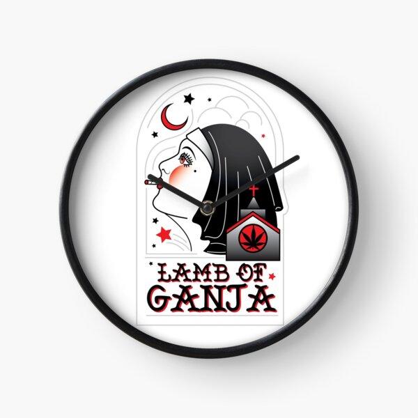 Lamb of Ganja Clock