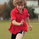 Henry at football training by John Hansen