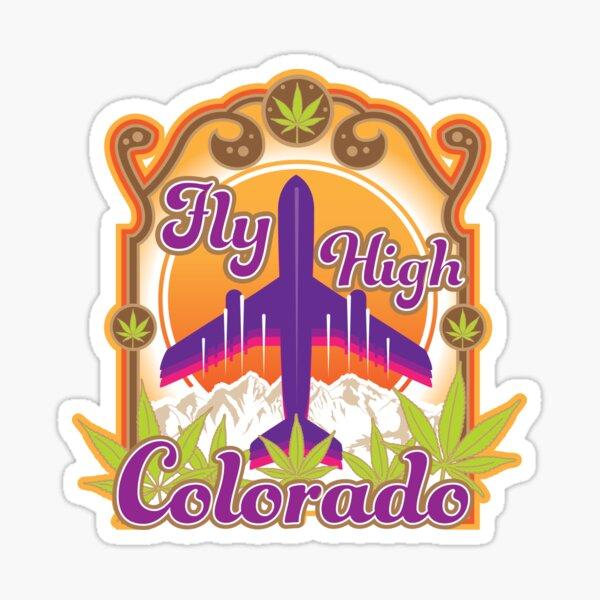 Fly High Colorado Sticker