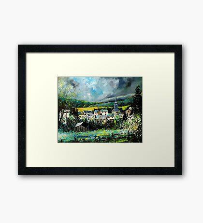 Spring in Daverdisse  Framed Print