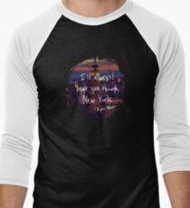Love, New York Men's Baseball ¾ T-Shirt