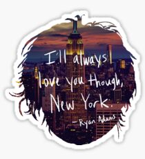 Love, New York Sticker