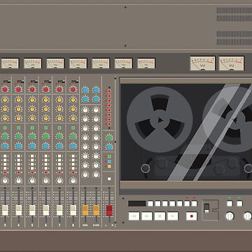 Tascam 388 - illustration by addnoise