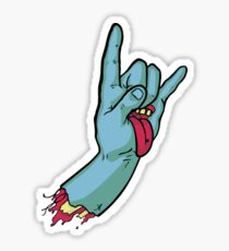 Rock On Metal Hand 2018 Sticker