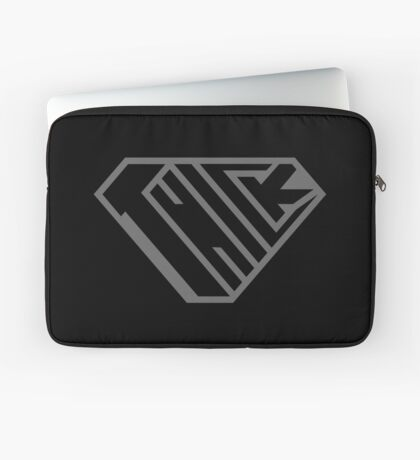 Thick SuperEmpowered (Black on Black) Laptop Sleeve